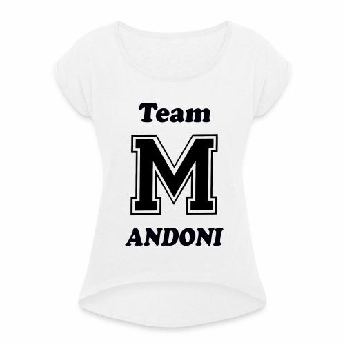 Team Androni - Camiseta con manga enrollada mujer