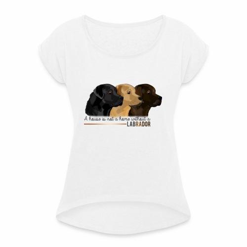 Labrador - T-shirt à manches retroussées Femme