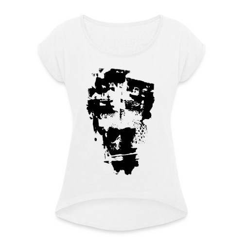 ALWAYS TIRED - Women's T-Shirt with rolled up sleeves