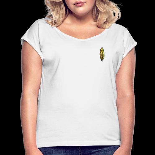Coin small - Vrouwen T-shirt met opgerolde mouwen