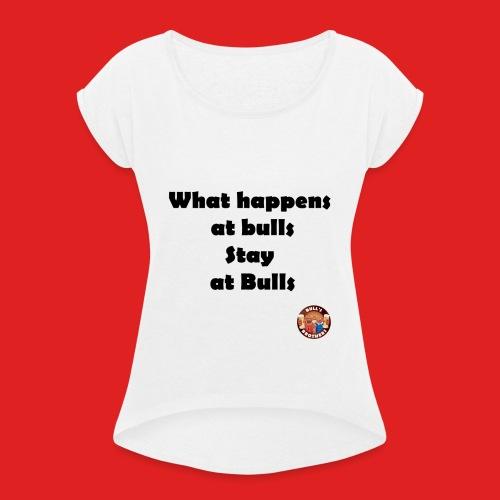 BB Stay at bulls - T-shirt à manches retroussées Femme