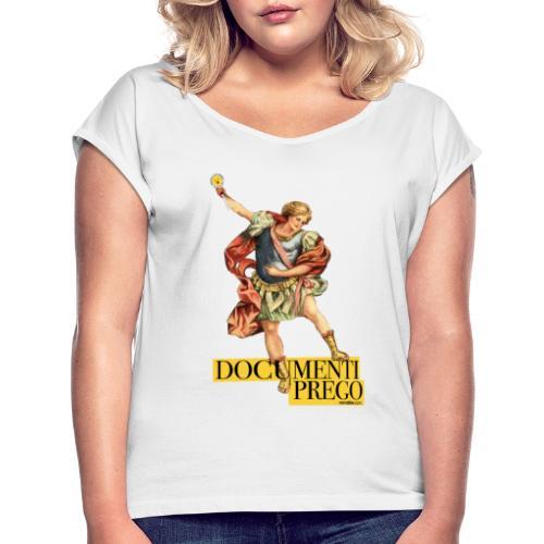 Documenti Prego - Maglietta da donna con risvolti