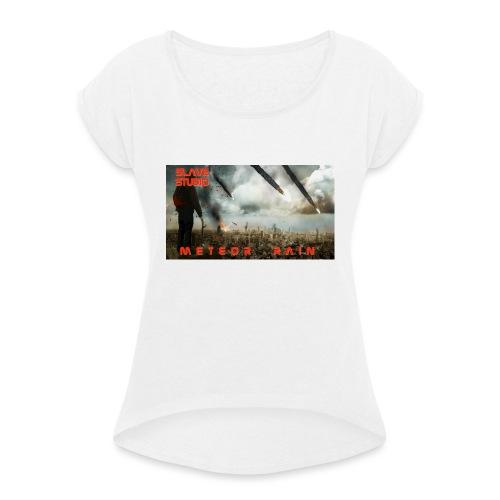 Meteor rain - Maglietta da donna con risvolti