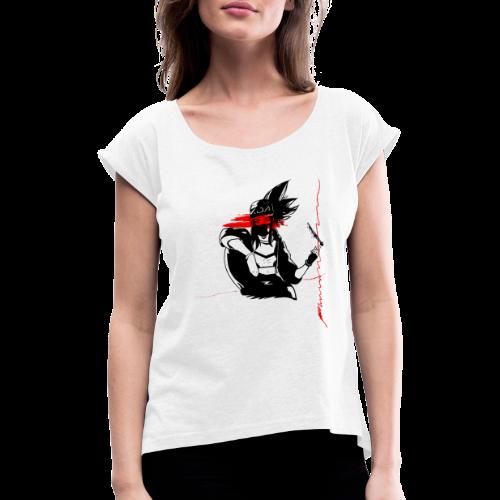 K/DA Akali - T-shirt à manches retroussées Femme