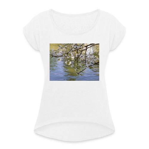 mardi - T-shirt à manches retroussées Femme