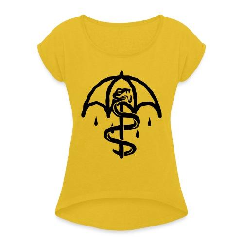 UMBRELLASNAKE - Camiseta con manga enrollada mujer