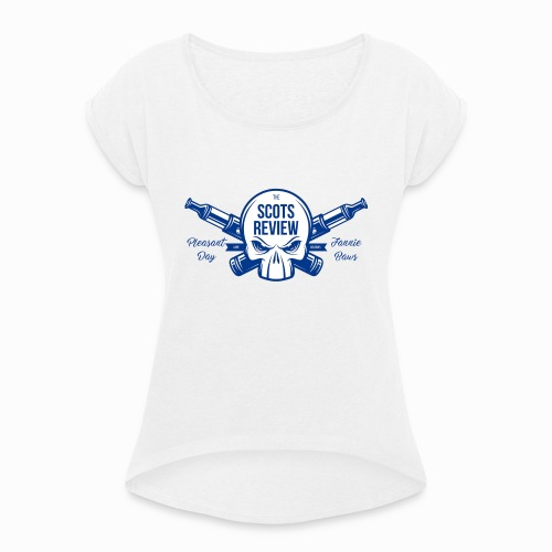 Pleasant Day Special Edition - Women's T-Shirt with rolled up sleeves