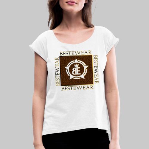 #Bestewear - Royal Line - Frauen T-Shirt mit gerollten Ärmeln