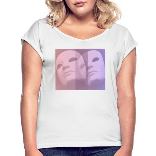 Maschere 2 - Maglietta da donna con risvolti