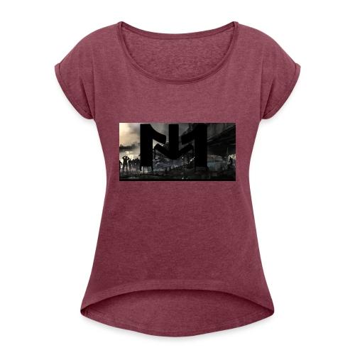 Mousta Zombie - T-shirt à manches retroussées Femme