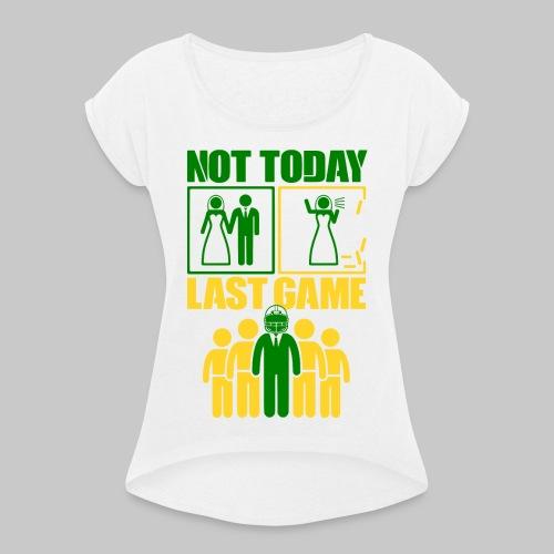 2reborn JGA Groom Wedding Hochzeit Braeutigam Part - Frauen T-Shirt mit gerollten Ärmeln