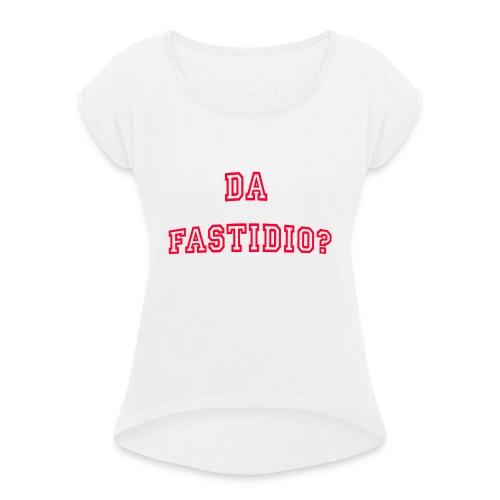 DaFastidio - Maglietta da donna con risvolti