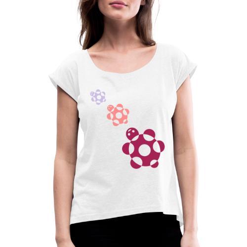 Tartarughe - Maglietta da donna con risvolti