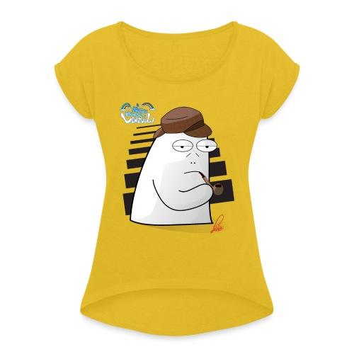 Commissario Color - Maglietta da donna con risvolti