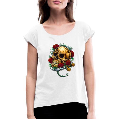 Valexio Raider - T-shirt med upprullade ärmar dam