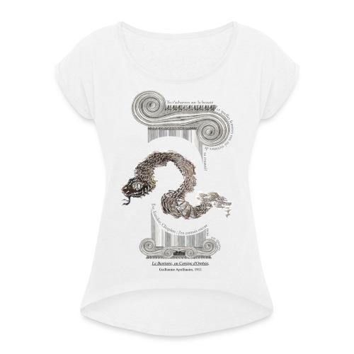 le Serpent - T-shirt à manches retroussées Femme