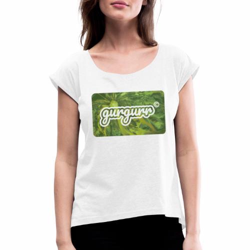 Poison Pigeon - Frauen T-Shirt mit gerollten Ärmeln