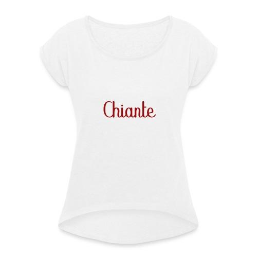 Chiante - T-shirt à manches retroussées Femme