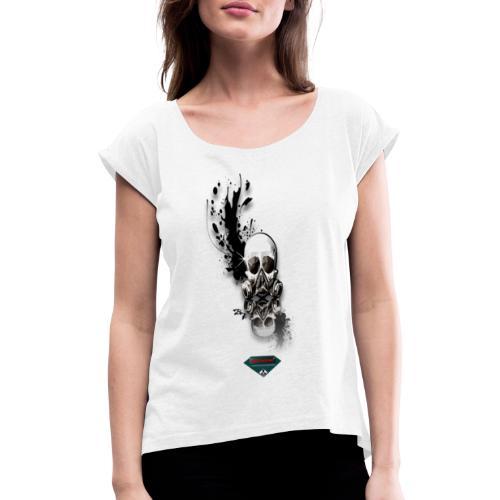 Mutagene Graff - T-shirt à manches retroussées Femme