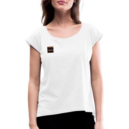 CraftingMC Special Edition - Frauen T-Shirt mit gerollten Ärmeln