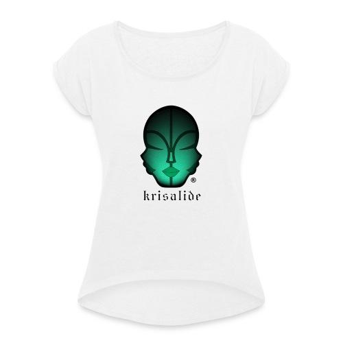 kris11 - Maglietta da donna con risvolti