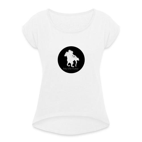 logo_intothehorse - Maglietta da donna con risvolti