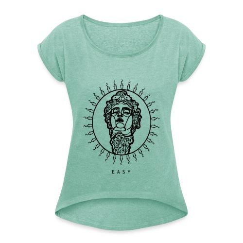 MEDUSA - Maglietta da donna con risvolti