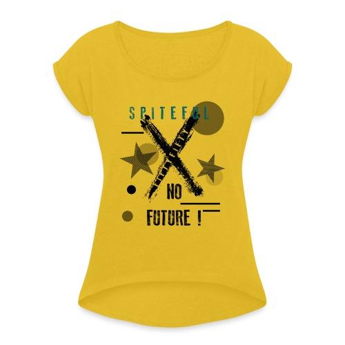 FIFTY - Maglietta da donna con risvolti
