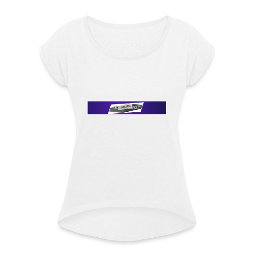 The chocolateminecart original design - Women's T-Shirt with rolled up sleeves