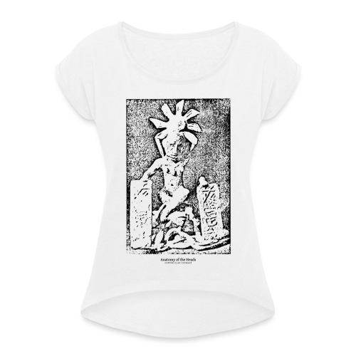 Copper Clad Coinage - Frauen T-Shirt mit gerollten Ärmeln