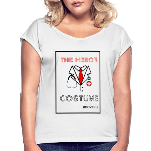 The Hero's Costume - T-shirt à manches retroussées Femme