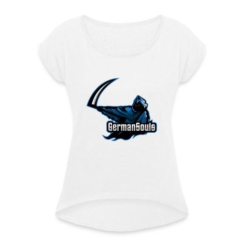 GermanSouls - Frauen T-Shirt mit gerollten Ärmeln