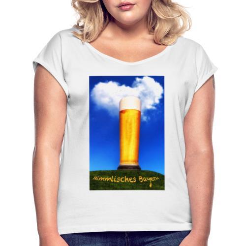 4184RBild - Frauen T-Shirt mit gerollten Ärmeln