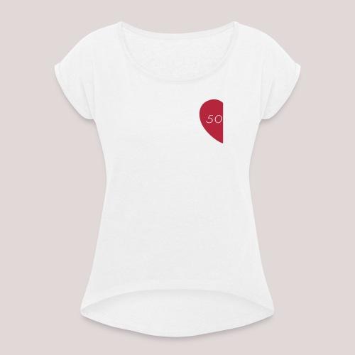 Loading - Maglietta da donna con risvolti