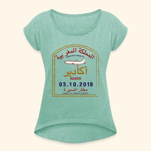 Agadir - T-shirt à manches retroussées Femme