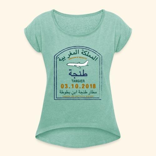 Tanger - T-shirt à manches retroussées Femme