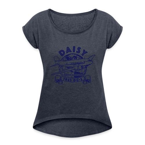 Daisy Globetrotter 1 - T-shirt med upprullade ärmar dam