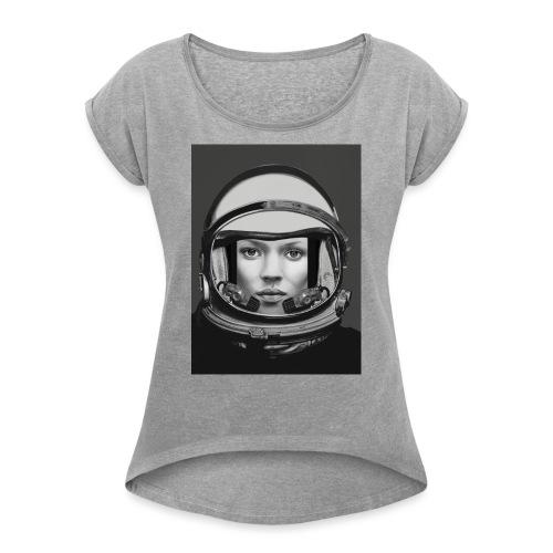 SPACE KATE - T-shirt à manches retroussées Femme