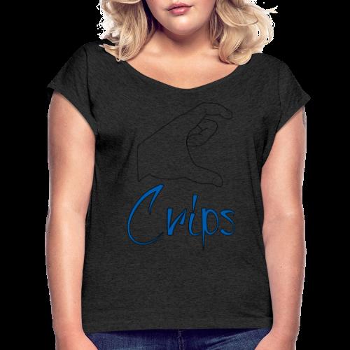 Crips - T-shirt à manches retroussées Femme