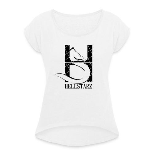 HELLSTARZ SNK - T-shirt à manches retroussées Femme