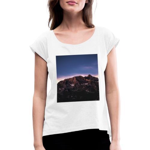 wild mountain - Maglietta da donna con risvolti