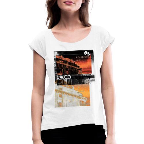 london V2 - T-shirt à manches retroussées Femme