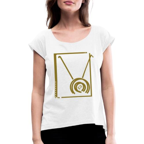 Diabolo - T-shirt à manches retroussées Femme