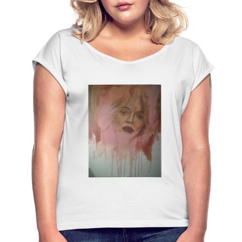 Donna 3 - Maglietta da donna con risvolti