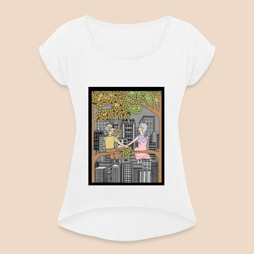 Philemon et Baucis - T-shirt à manches retroussées Femme