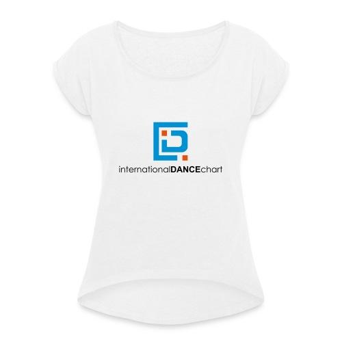 International Dance Chart - Camiseta con manga enrollada mujer