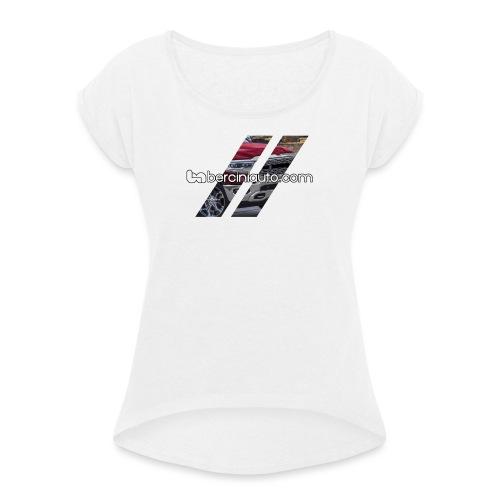 1500 - Maglietta da donna con risvolti