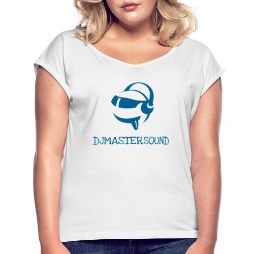 Logo Djmastersound 1024x835 - T-shirt à manches retroussées Femme