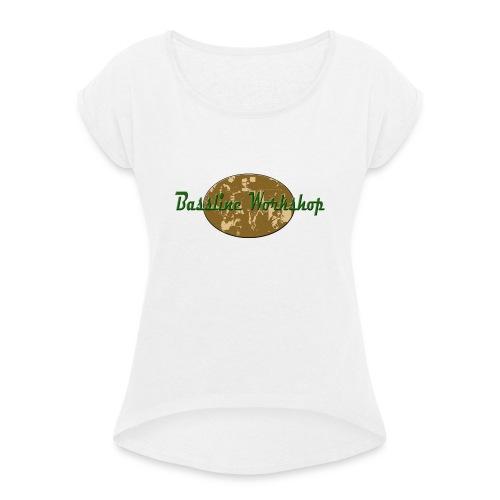 bassplayers - T-shirt à manches retroussées Femme