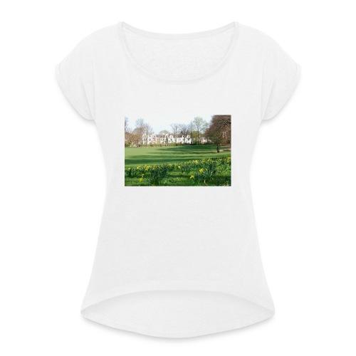 Hamburg Inno - Frauen T-Shirt mit gerollten Ärmeln